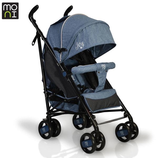Moni Детска лятна количка Joy тъмносиня 106282