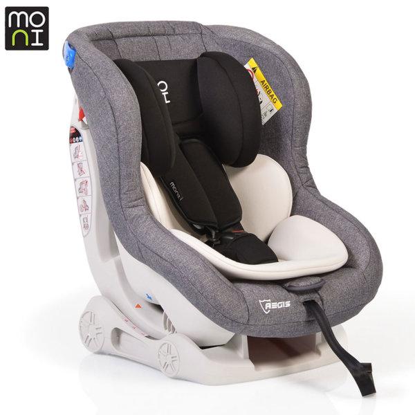 Moni Детско столче за кола Aegis (0-18kg) бежово/сиво 106235