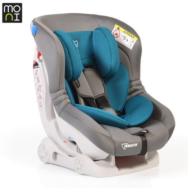 Moni Детско столче за кола Aegis (0-18kg) синьо/сиво 106237