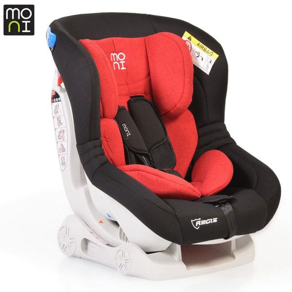 Moni Детско столче за кола Aegis (0-18kg) червено/черно 106238