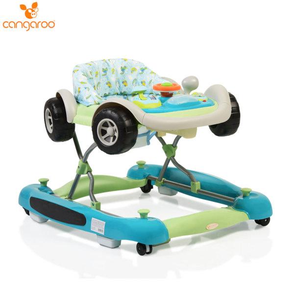 Cangaroo Детска проходилка Car синя 101983