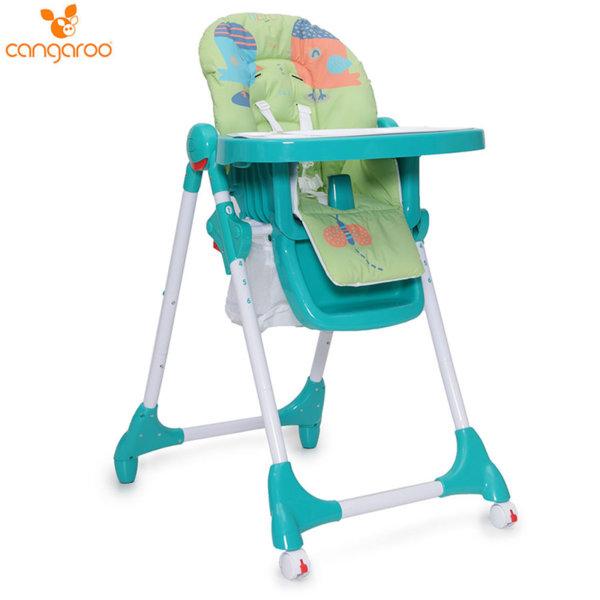 Cangaroo Детски стол за хранене Kimchi зелен 103321