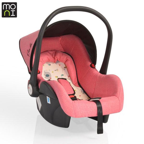 Moni Детско столче кошница за кола Gala (0-13кг) корал 104599