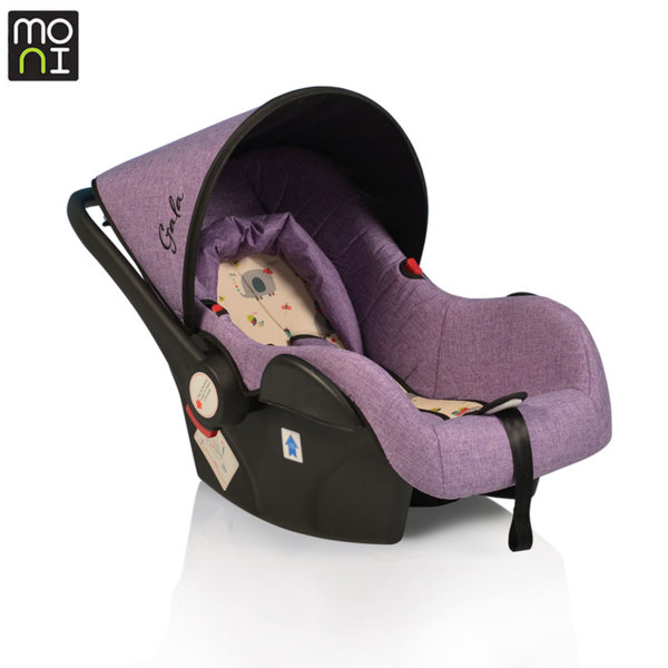 Moni Детско столче кошница за кола Gala (0-13кг) лилаво 106430