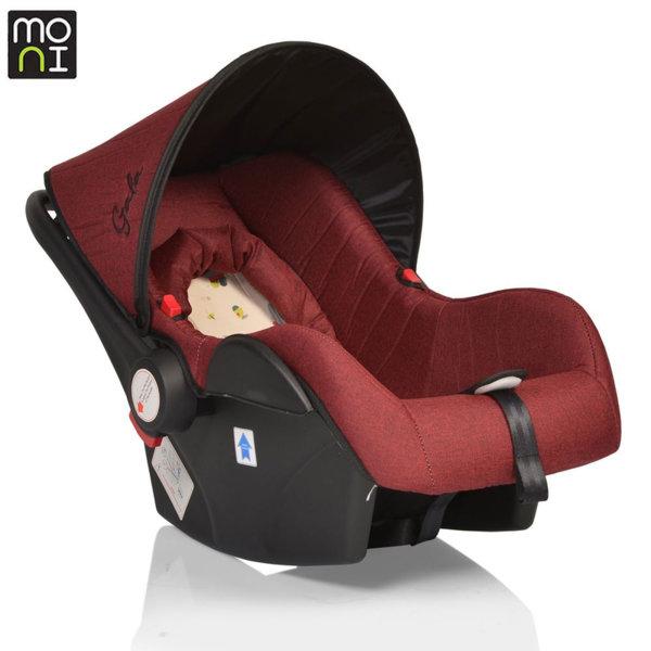 Moni Детско столче кошница за кола Gala (0-13кг) червено 106429