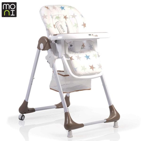 Moni Детски стол за хранене Avocado бежов 106247