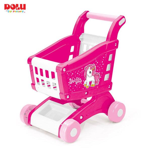 Dolu Детска количка за пазаруване Unicorn 2558