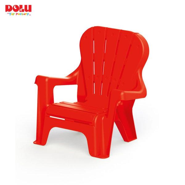 Dolu Детско столче с облегалка червено 3107