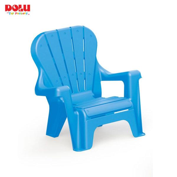 Dolu Детско столче с облегалка синьо 3107