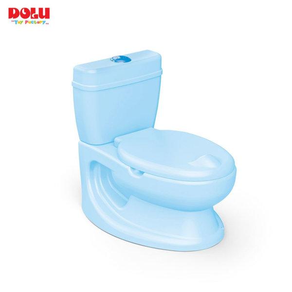 Dolu Бебешка тоалетна с казанче синя 7251
