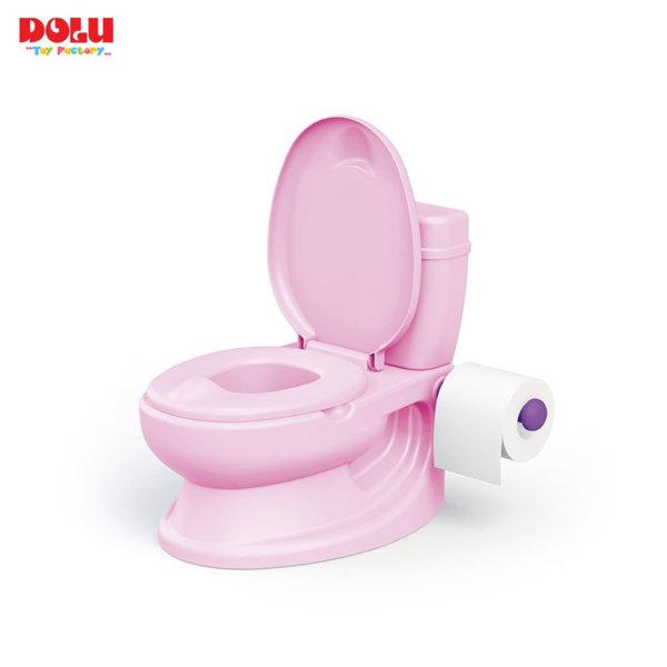 Dolu Бебешка тоалетна с казанче розова 7252