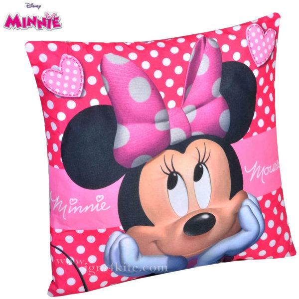 Disney Minnie Mouse Детска декоративна възглавничка Мини Маус 16592