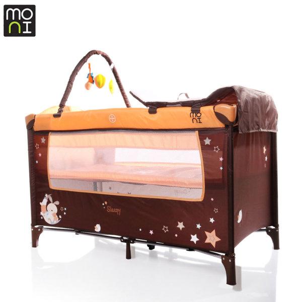 Moni Детска кошара Sleepy оранж 106501