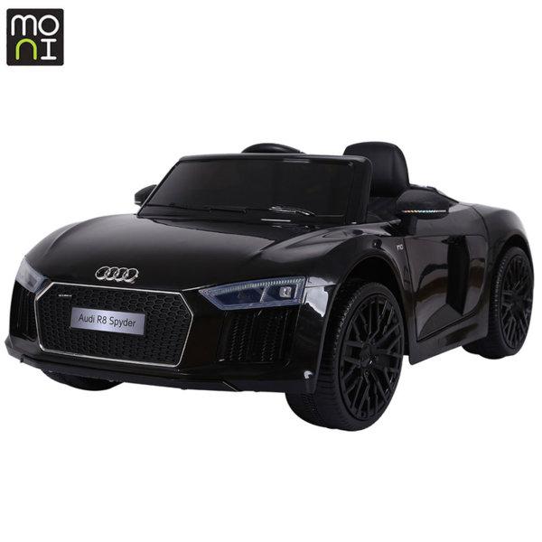 Moni Акумулаторна кола Audi R8 Spyder черен металик JJ2198