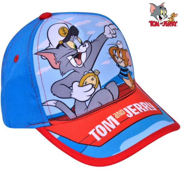 Tom and Jerry Детска шапка с козирка Том и Джери 25310