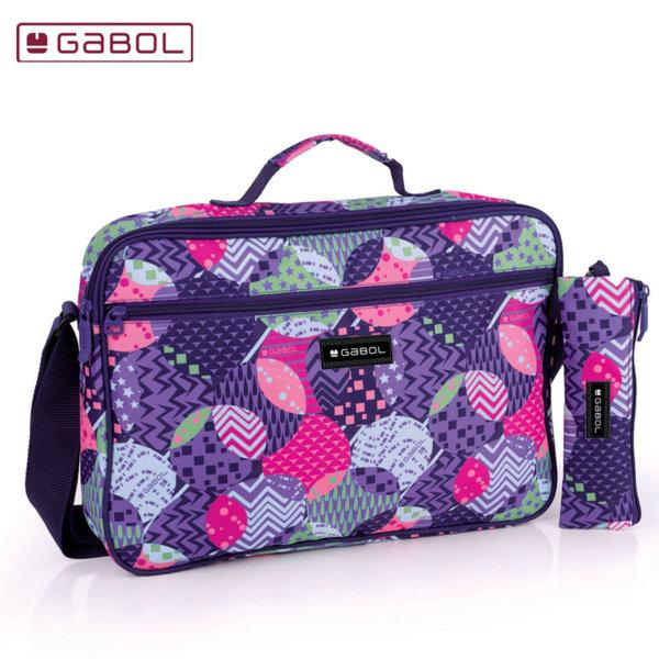 Gabol Globe Ученическа чанта с несесер Габол 225559