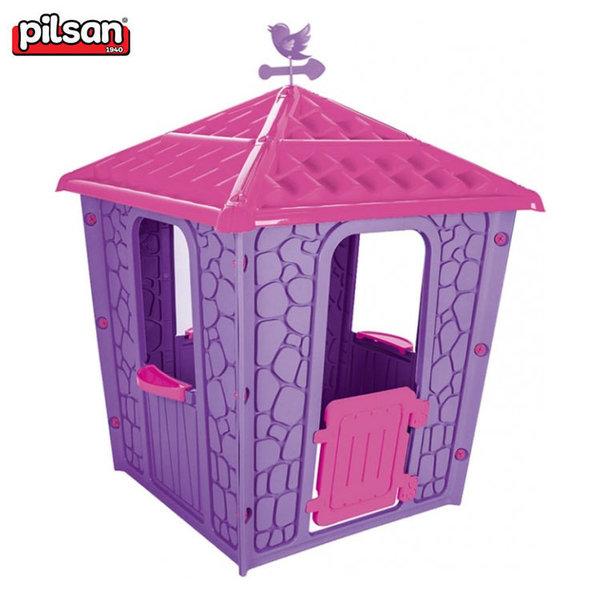 Pilsan Детска къща за игра розова 06437
