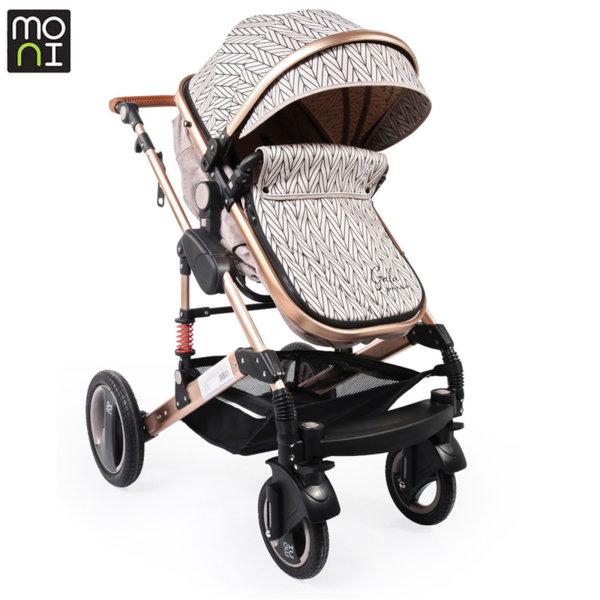 Moni Комбинирана детска количка Gala Premium Barley 106633