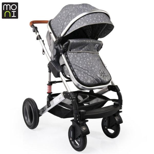 Moni Комбинирана детска количка Gala Premium Stars 106634