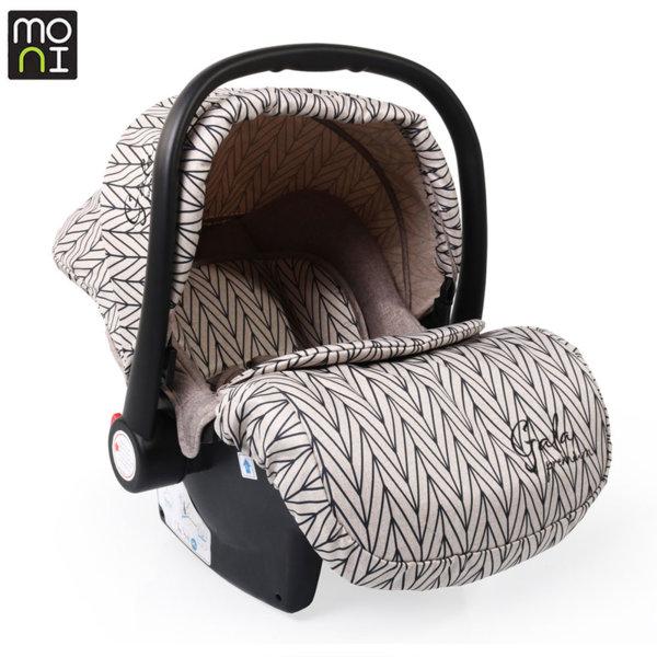 Moni Детско столче кошница за кола Gala Premium (0-13кг) Barley 106635
