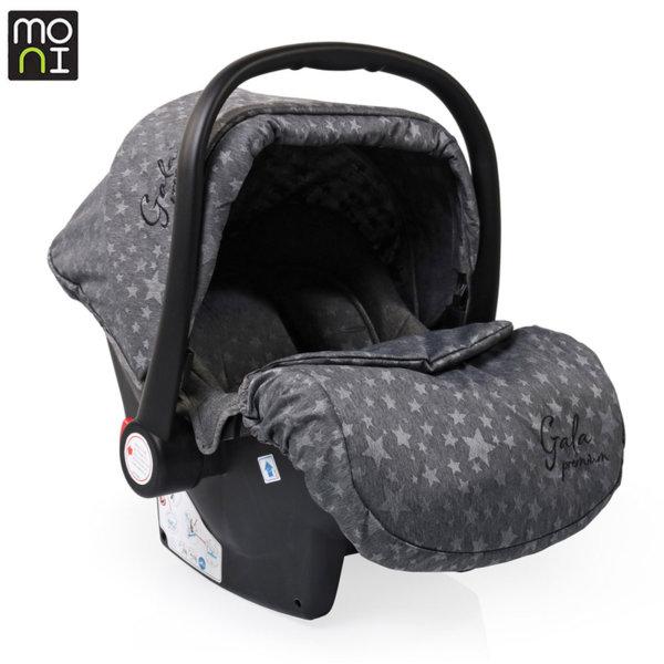 Moni Детско столче кошница за кола Gala Premium (0-13кг) Stars 106636
