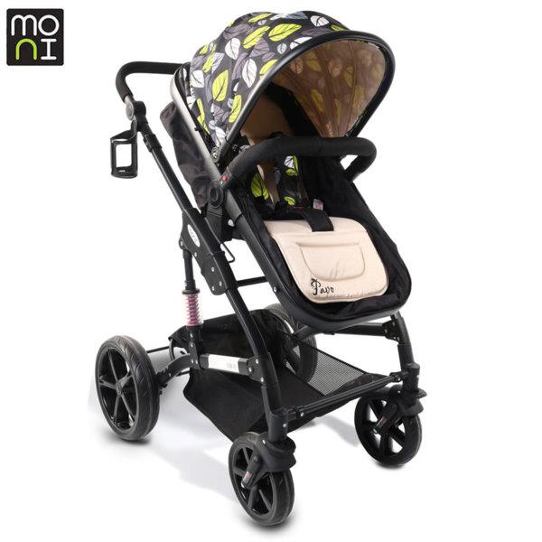 Moni Комбинирана детска количка Pavo бежова 106783