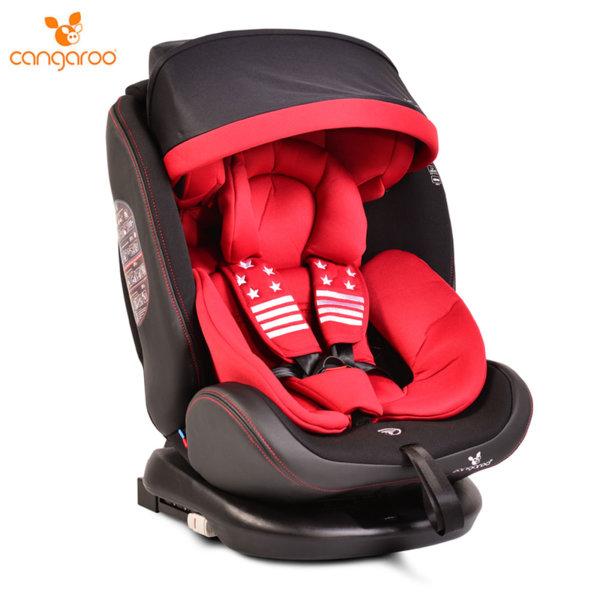 Cangaroo Детско столче за кола Pilot (0-36кг) червено 106913