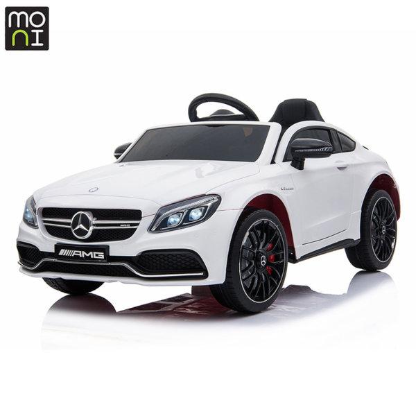 Moni Акумулаторна кола Mercedes C63s бял QY1588
