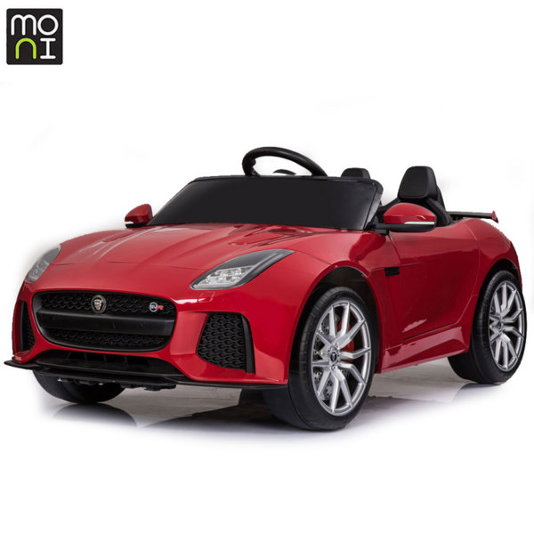 Moni Акумулаторна кола Jaguar F-type SVR червен металик QLS-5388
