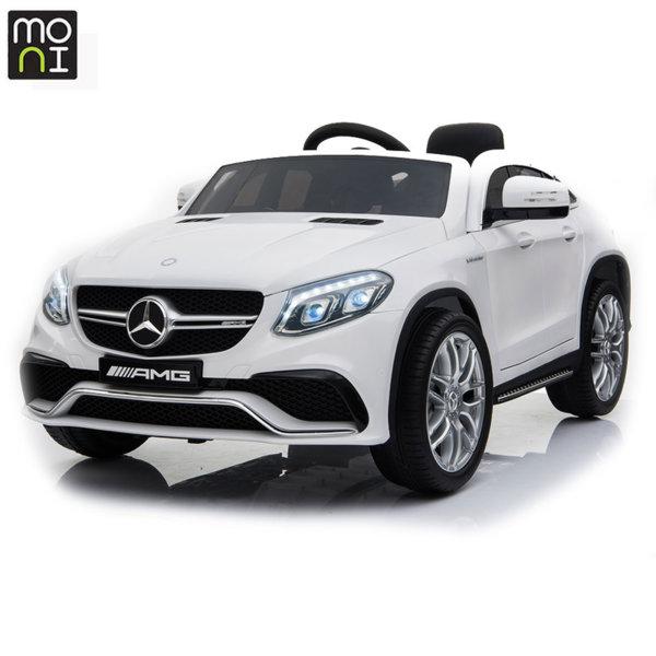 Moni Акумулаторен джип Mercedes AMG GLE63 Coupe бял металик A005