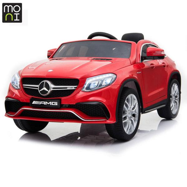 Moni Акумулаторен джип Mercedes AMG GLE63 Coupe червен металик A005