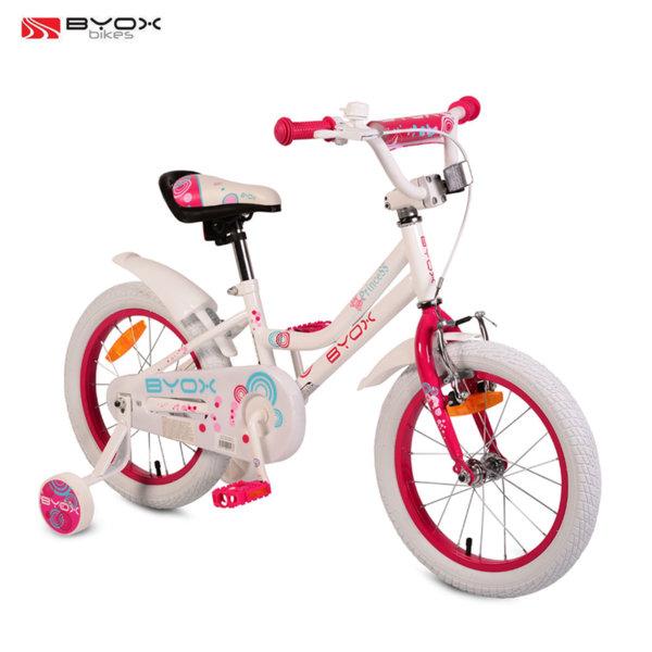 "Byox Bikes Детски велосипед 16"" White Princess 106980"