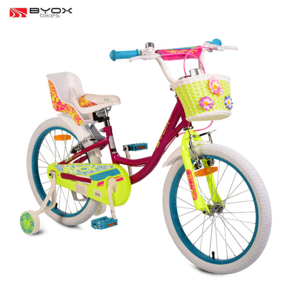 "Byox Bikes Детски велосипед 20"" Fashion Girl розов 106986"