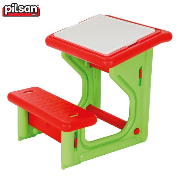 Pilsan Детски чин с пейка Червен 03410