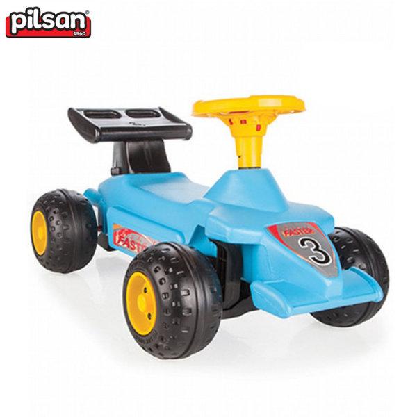 Pilsan Детска кола за бутане с крачета Формула 06808 синя