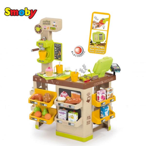 Smoby Детски магазин за кафе със звук и светлина 350214