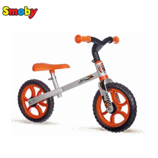 Smoby Детско балансиращо колело оранжево 770200