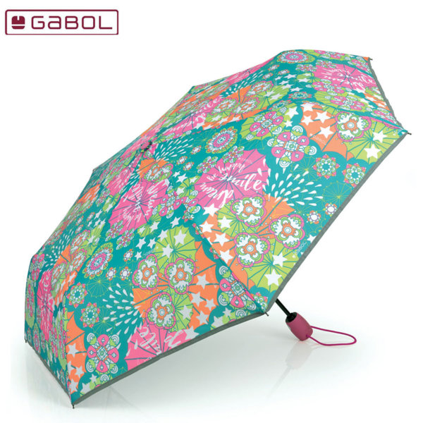 Gabol Mint Чадър 53 см сгъваем Габол 224564