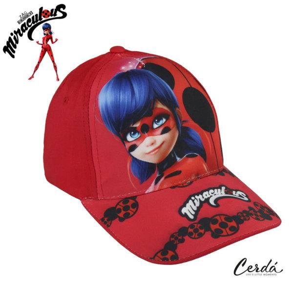 LadyBug Детска шапка с козирка Калинката 2855