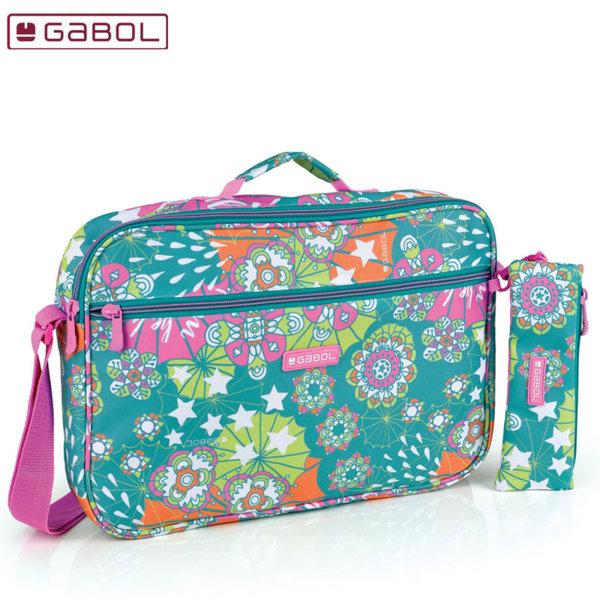 Gabol Mint  Ученическа чанта с несесер Габол 224559