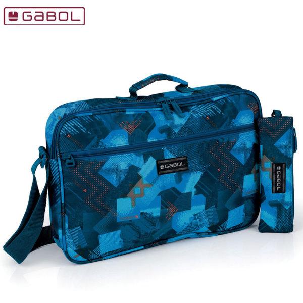 Gabol Noise Ученическа чанта с несесер Габол 225959