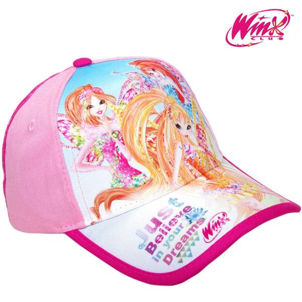 Winx Детска шапка с козирка Уинкс 13185