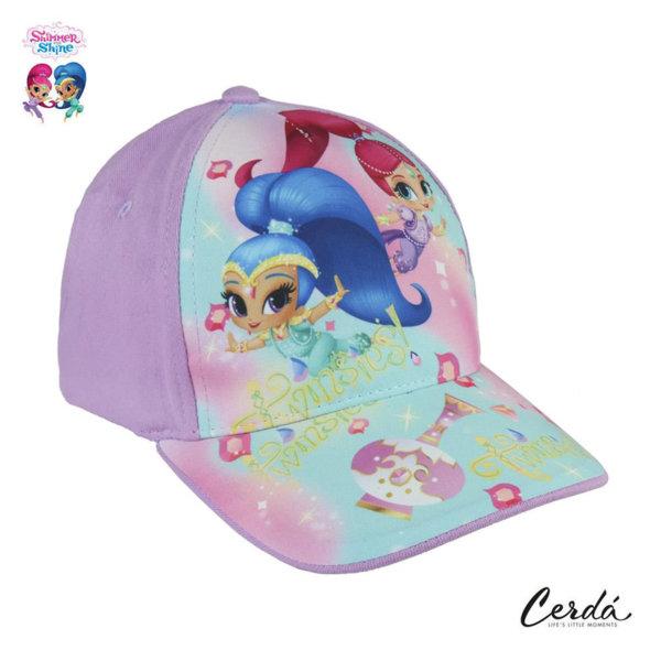 Shimmer and Shine Детска шапка с козирка Искрица и Сияйница 2852