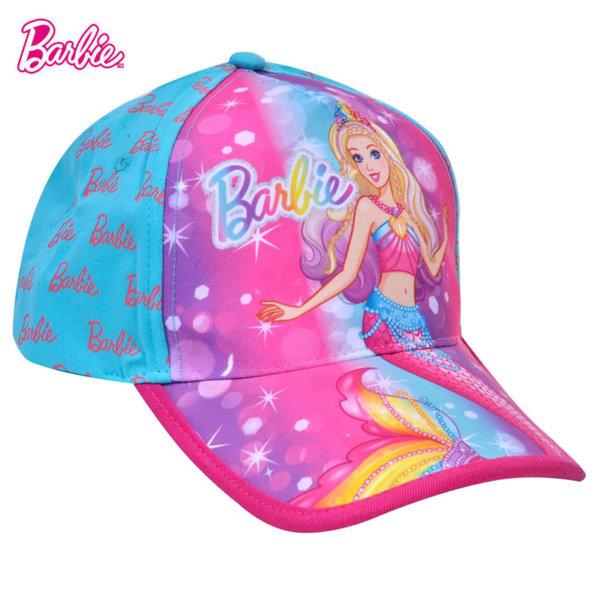 Barbie Детска шапка с козирка Барби 17432