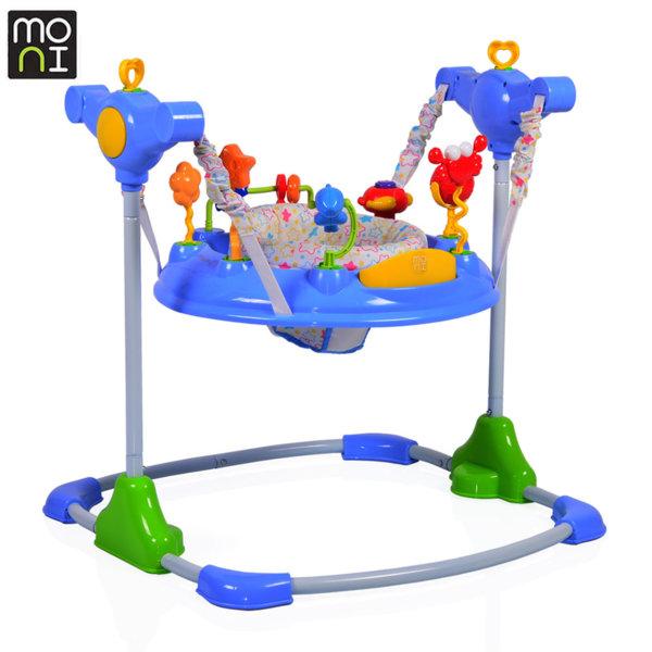 Moni Бебешко бънджи Vista синьо 104221