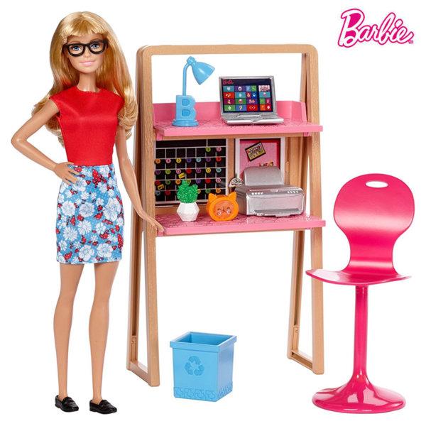 Barbie Кукла Барби в офиса DVX51