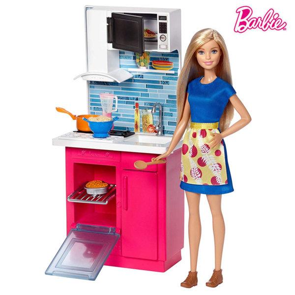 Barbie Кукла Барби в кухнята DVX51