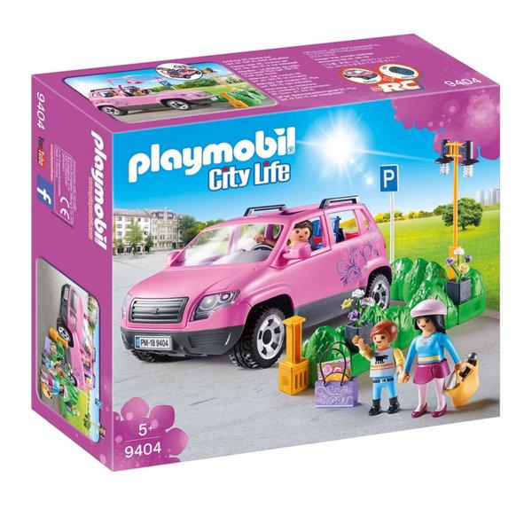 Playmobil Семейна кола с паркомясто 9404
