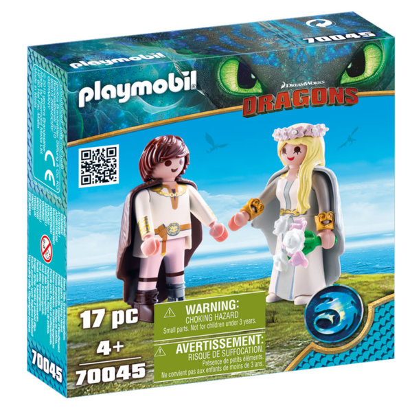 Playmobil  Младоженците Астрид и Хълцук 70045