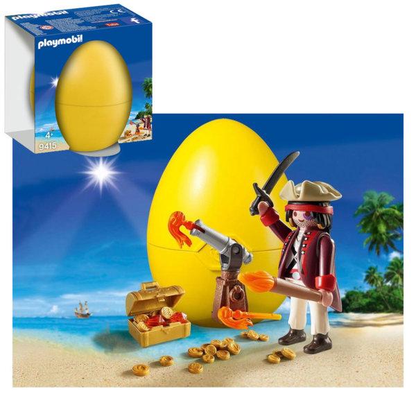 Playmobil Великденско яйце Пират с оръдие 9415